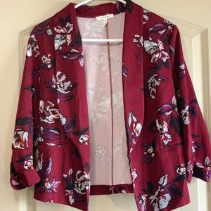 Maurices cropped blazer